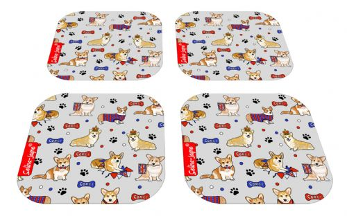 Selina-Jayne Corgi Dogs Limited Edition Designer Coaster Gift Set